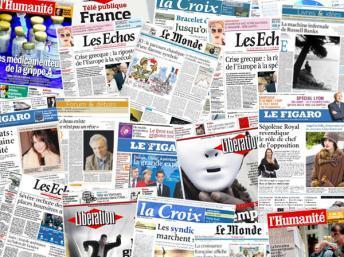 Stampa in crisi, aumenta il prezzo dei quotidiani francesi