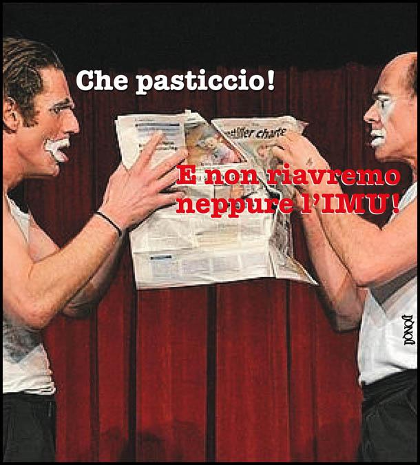 In nome del verbo di Silvio, aspettando l'Imu promessa