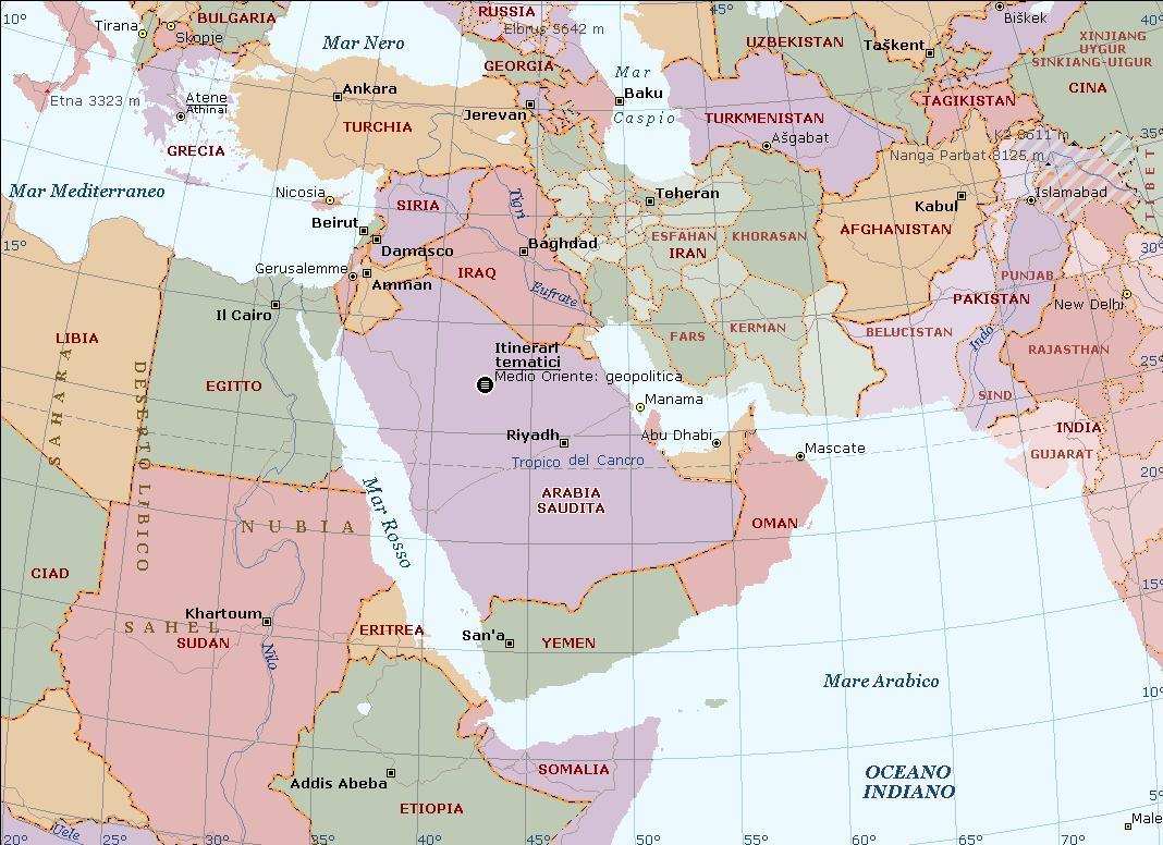 Medio Oriente tra misteri poco misteriosi ed equilibri molto instabili