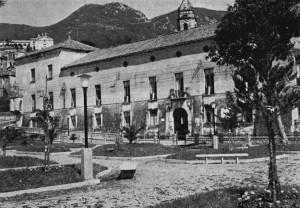 Palazzo De Simone in una foto d'epoca