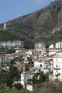 Una veduta del comune di Pellezzano