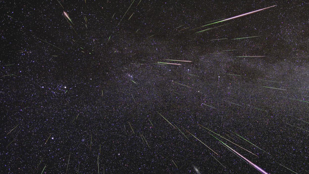 Caduta di meteoriti e storiche, strane piogge dal cielo