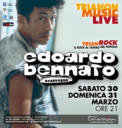 Al Trianon, Pasqua con Edoardo Bennato in due concerti-evento