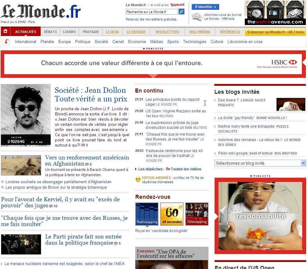 """Le Monde online """"premia"""" i redattori con trasferte da sogno"""