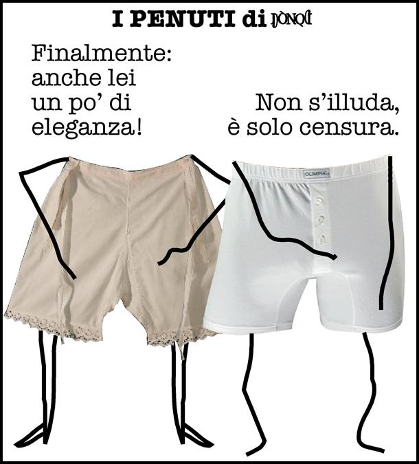 L'abito non fa il penuto