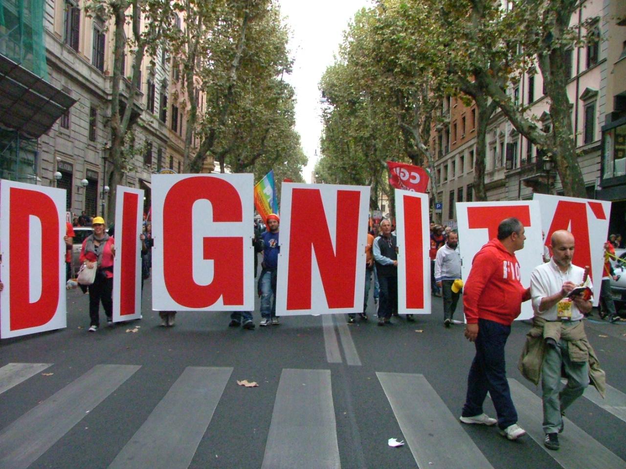 Domani tutti in piazza a Roma contro l'Italia dell'inciucio