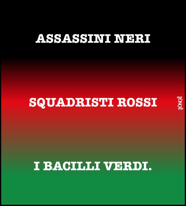 Nuovi cromatismi della bandiera italiana