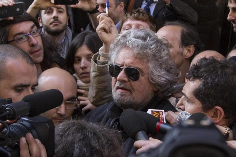 Beppe Grillo fotocopia di Marine Le Pen