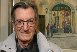 Il regista Carlo Lizzani
