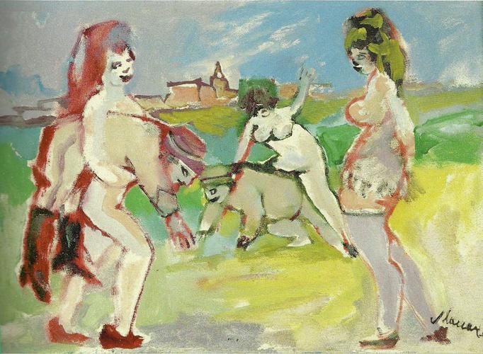 Mino Maccari, la Commedia nell'arte