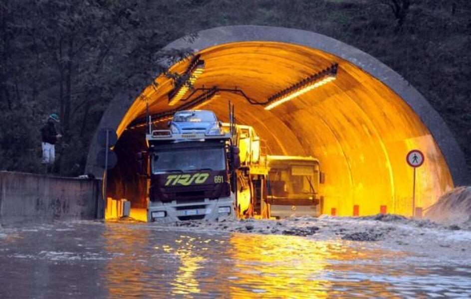 Sono sei milioni gli italiani a rischio alluvione