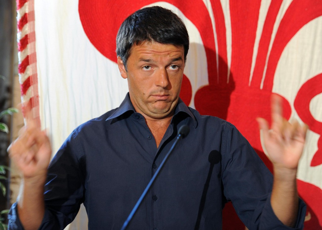 Renzi, i partiti italiani e l'Unione Europea