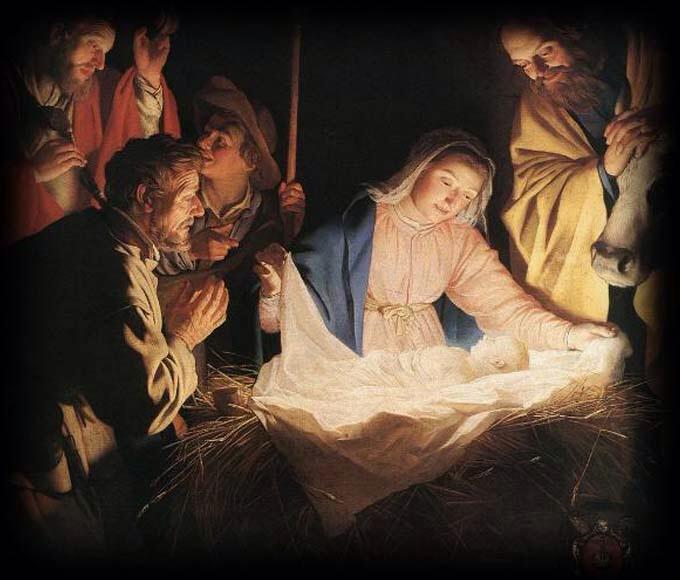 Cristo, luce d'attesa non d'artista