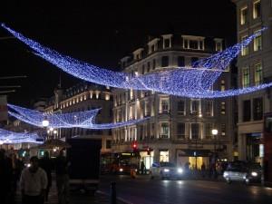 Londra in questi giorni di festa