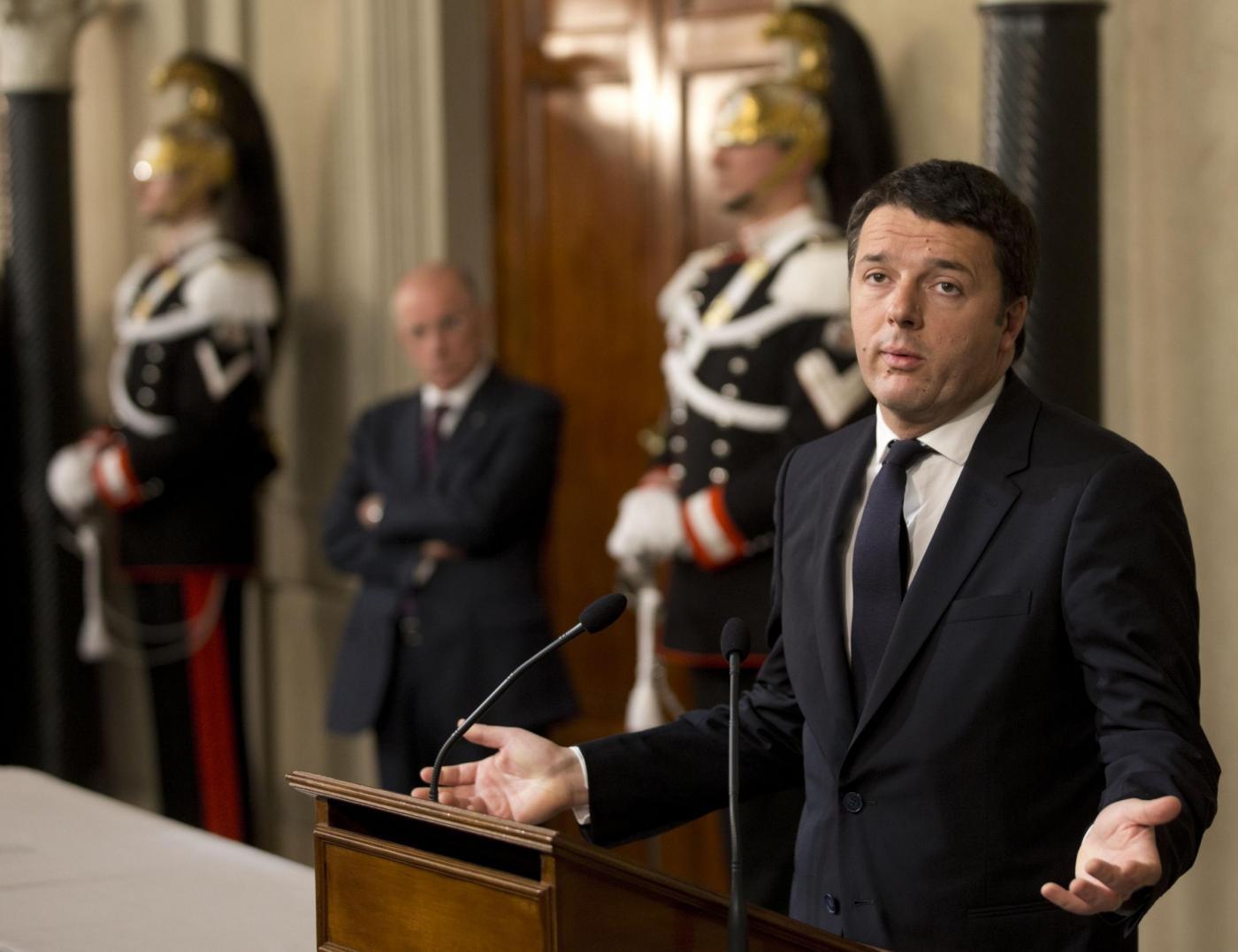 Renzi, falsa partenza