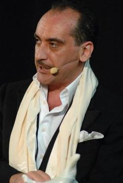 L'attore Lucio Bastolla