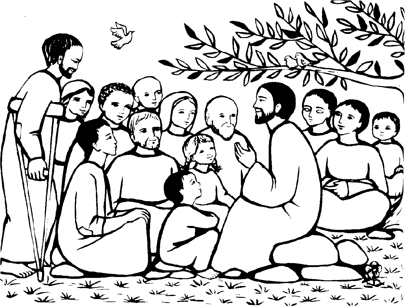 Riflettori su Gesù / Misericordia dell'amico