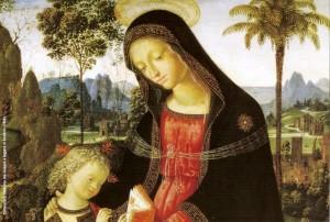 Maria, dipinto del Pinturicchio