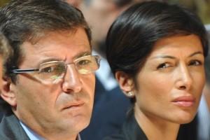 Nicola Cosentino e Mara Carfagna