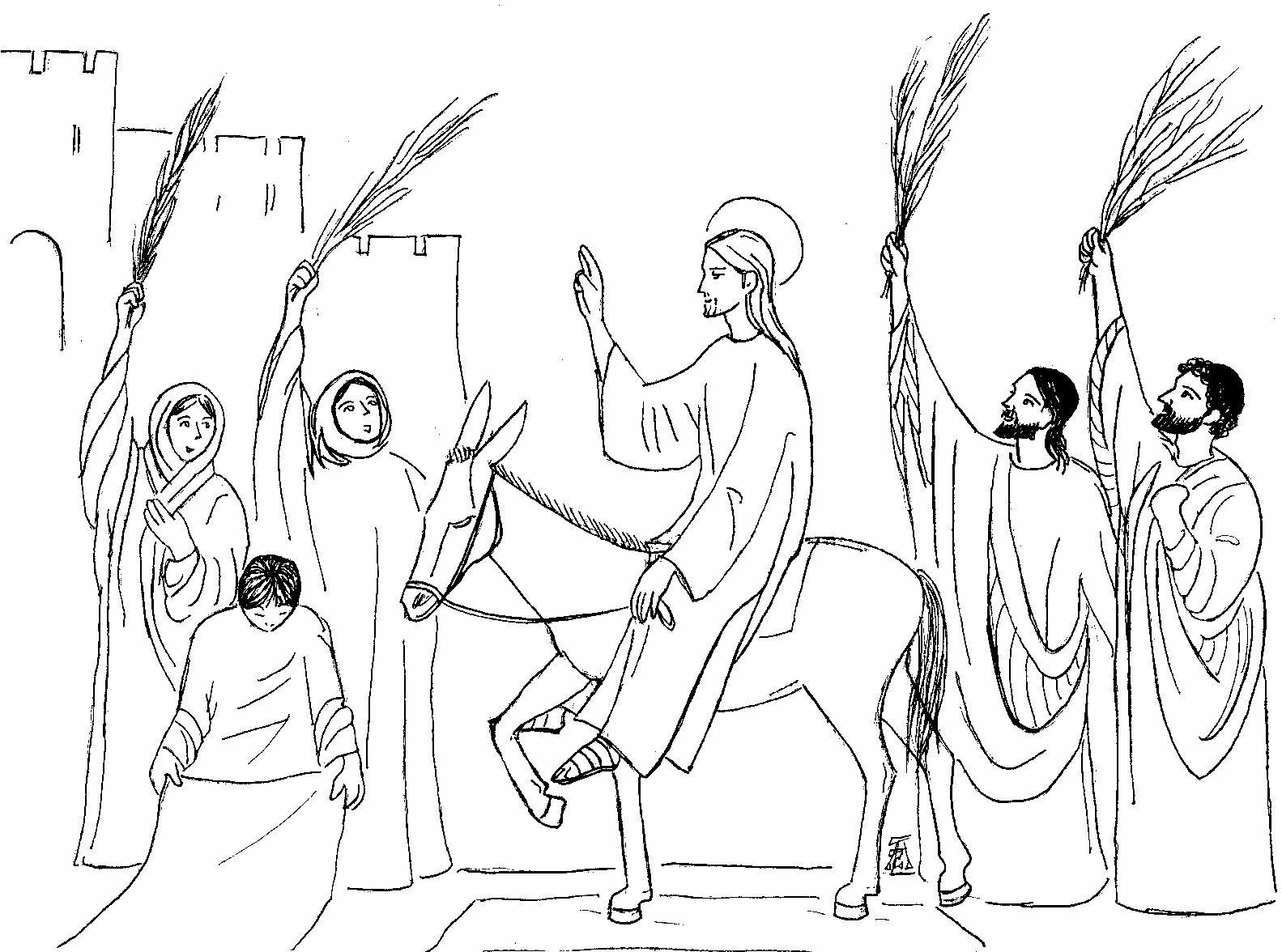 Entriamo nella folla di Gesù