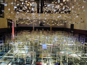Opera esposta di recente alla Biennale di Venezia