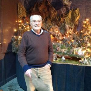Antonio Manzi, autore del presepe di Villa Manzi