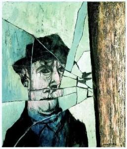 mino-ceretti-uomo-allo-specchio-rotto