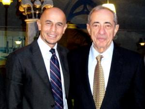 Sergio e Mario Cuomo in una foto di qualche anno fa
