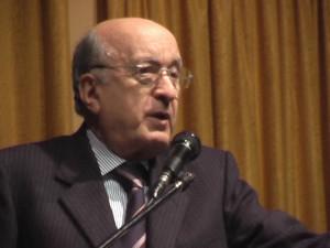 L'ex presidente del Consiglio Ciriaco De Mita