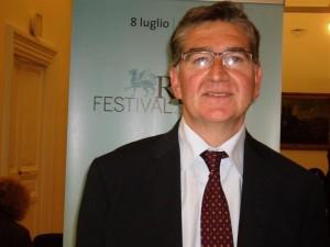 Il sindaco di Ravello e nuovo presidente della Fondazione