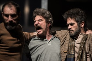 Diego Sepe, Andrea Renzi e Giacinto Palmarini in 'Zio Vania'