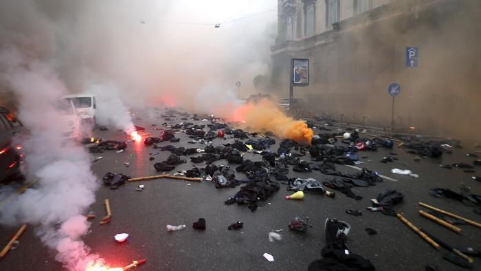 """Una Milano """"explosiva"""" per l'esposizione universale"""
