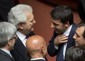 Verdini con Renzi