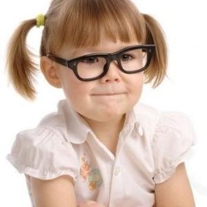 Bimba occhiali