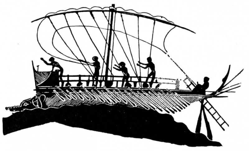 Una nave di Teseo che somiglia a un super-yacht