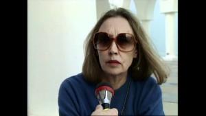 La giornalista e scrittrice Oriana Fallaci