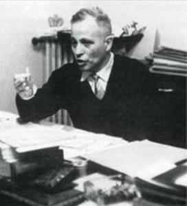 L'etnologo e antropologo Ernesto De Martino