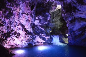 Lo splendido scenario delle grotte di Pertosa/Auletta