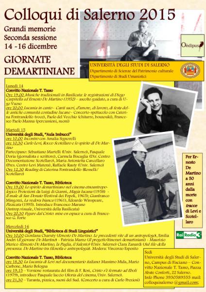 Programma Giornata Demartiane