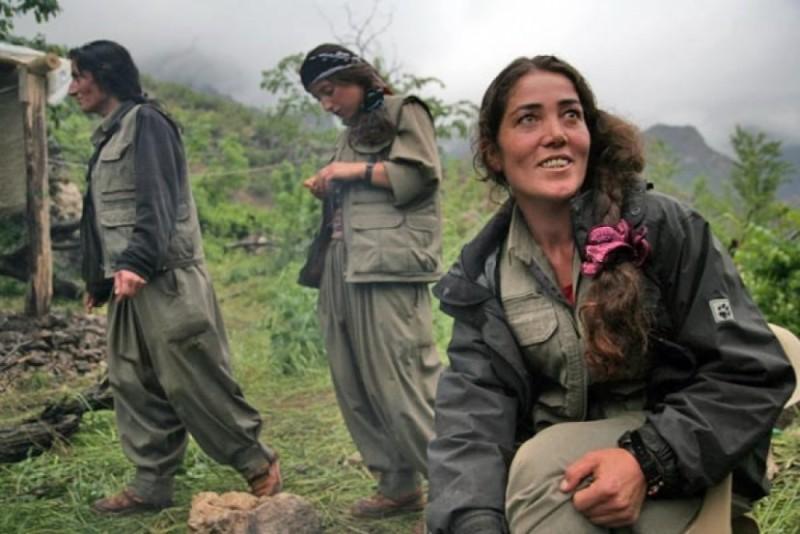 Un paradiso possibile per Eva la curda