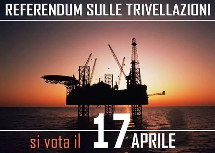 Il mio SI al referendum del 17 aprile