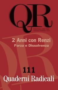 La copertina di Quaderni Radicali