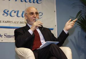 Il presidente dell'Ordine dei giornalisti, Iacopino