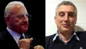 Il governatore De Luca e il suo ex collaboratore Nello Mastursi