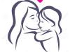 39510791-madre-e-figlia-stilizzato-vettore-silhouette-delineato-abbozzo-di-mamma-e-bambino-Archivio-Fotografico