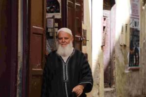 nelle stradine della Medina