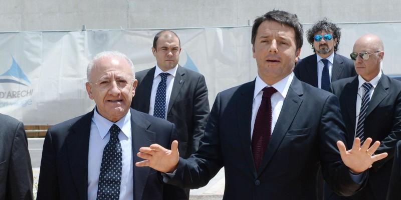 È precipitato in un abisso il Pd di Renzi e De Luca